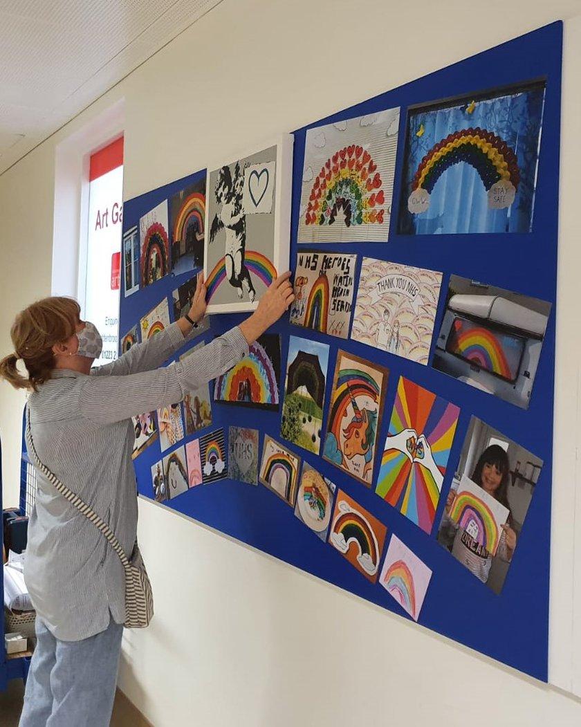 Lesley Bermingham covid art expo