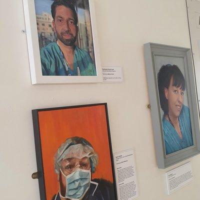 Covid art expo