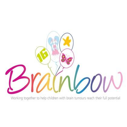 Brainbow logo new with Joshua Tarrant Trust balloon