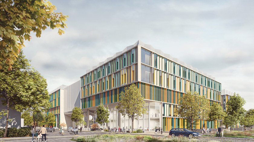 Cambridge Children's Hospital - exterior architect's picture