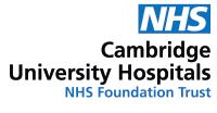 Cambridge university Hospitals logo