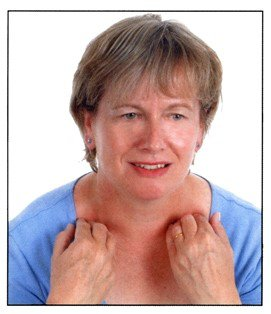 Checking your lymph nodes above the collar bone