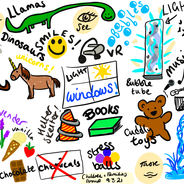 A doodle from Cambridge Children's Network