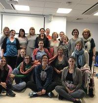 Hypnobirthing team photo at the Rosie Hospital