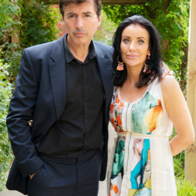 Jean-Christophe Novelli and wife Michelle