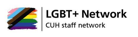 LGBT + staff network logo