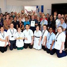 Lewin Stroke and Rehabilitation Unit team photo