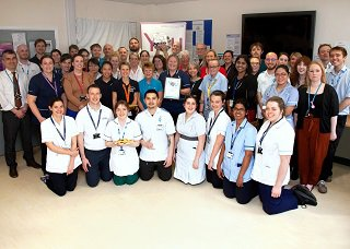 Lewin Stroke and Rehabilitation Unit team photo