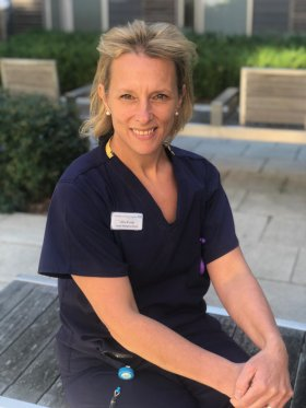 Libby Brinker - Matron for Gynaecology and Inpatient maternity