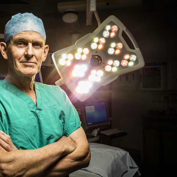 Rod Laing - consultant neurosurgeon