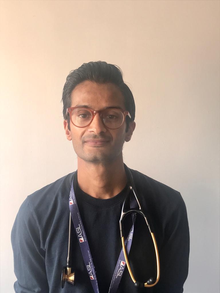 Headshot of Medic Ricky Sinharay