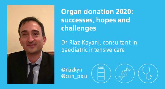 Riaz Kayani medicine for members organ donation in 2020