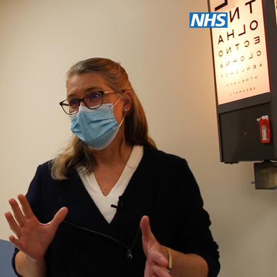 Paediatric ophthalmologist, Dr Louise Allen