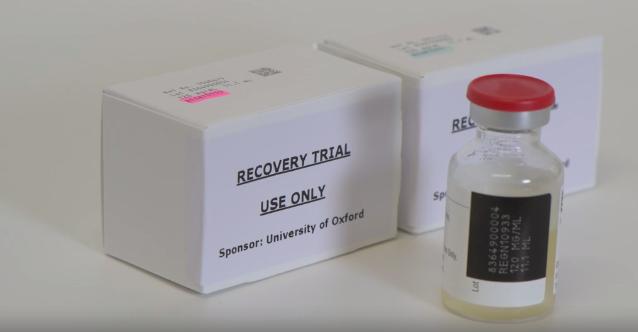 REGEN-COV, Recovery Trial