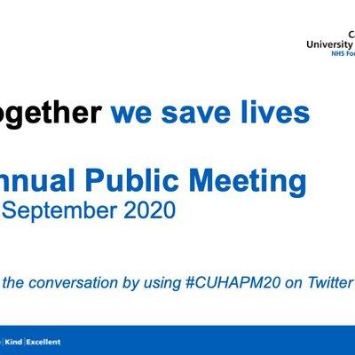 APM 2020 cover slide