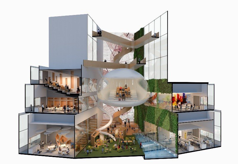 'The art of the possible' – Imagining a new children's hospital. Early inspiration for a new hospital as imagined by young people on our mental health wards together with Murphy Philipps Architects