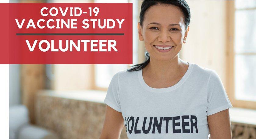Covid-19 vaccine study volunteer