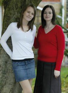 Ruth and Lisa Bendle