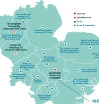 East Genomics map