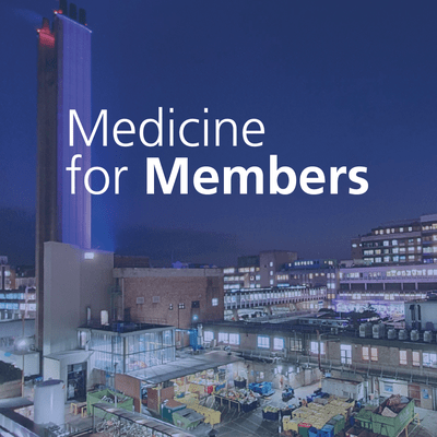 Medicine for members cover picture
