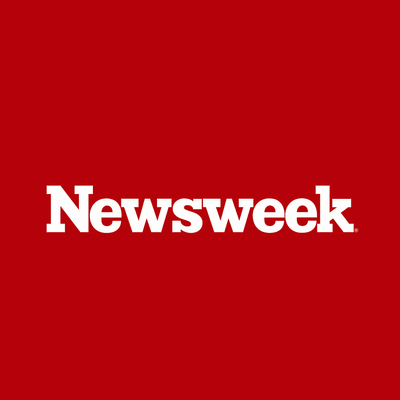 Red Newsweek logo on a white background