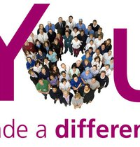 You made a difference - lots of people