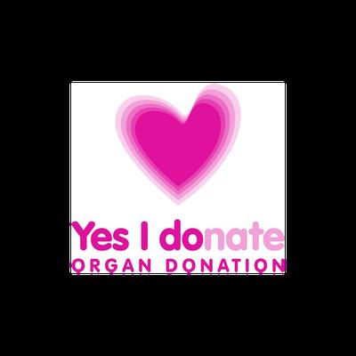 Yes I donate logo